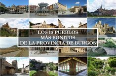 Los 15 pueblos más bonitos de Burgos Medieval, Pergola, Outdoor Structures, Travelling, Spain, Fields, Townhouse, Beautiful Places, Wonderful Places