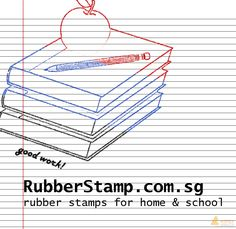 Are you a teacher? Or a parent? It is always nice to praise the kids for their good effort! Get the ideal rubber stamp at http://www.rubberstamp.com.sg/