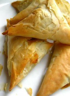 Spanakopita ~ Spinach & Feta Pie ... #appetizer #step-by-step photos #greek food #recipe