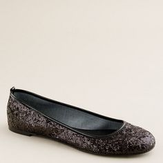 J.Crew Glitterati ballet flats.. Try and tell me I don't need these.
