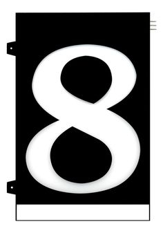 Homidea Backlit LED House Number 8 Led House Numbers, Home Projects, Craft Projects, Turn Light, Number 8, Overhead Lighting, Emergency Response, House Entrance, Day For Night