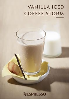 Lose yourself in the unbeatable flavors of this Vanilla Iced Coffee Storm recipe from Nespresso. The sweetness of vanilla ice cream intermingles with the bold flavor of Vivalto Lungo Grand Cru for a delicious coffee beverage that's perfect for beating the summer heat. Cool off with this easy iced coffee recipe today.
