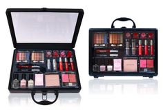 SHANY Cosmetics Holiday Makeup Case - Reusable Aluminum Carry All Train Case with Clear Top - Holiday Exclusive, Limited $11.99