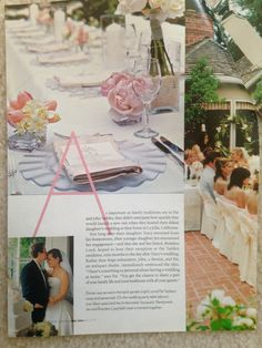 CA wedding at home & traditions