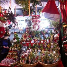 Instagram Photo: Christmas market in Barcelona, Spain
