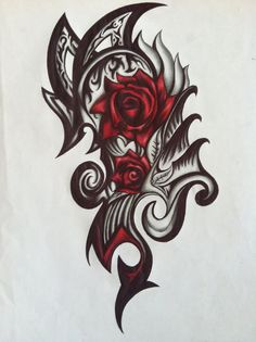 tribal flower designs - Google Search