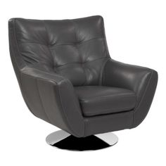 When I get command of the Enterprise ... Bruno Accent Chair - Grey from Z Gallerie