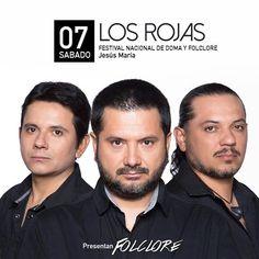 Los Rojas en Jesús María - ErMusicTV® Canal de Música / Noticias / Discos de Entre Ríos® / ERD Music®