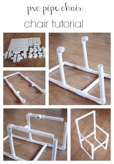 pvc pipe chair tutorial 5