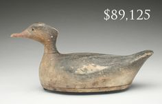 Merganser Hen By Charles Osgood at Guyette and Deeter Auction