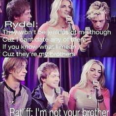 Yeah Rydellington I ship it