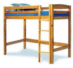 woodworking bed find the real benefit of wood - Free Loft Bed With Desk Plans