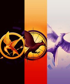 The Hunger Games, Catching Fire, and Mockingjay.