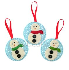Inspiration! Felt Ornaments (Hangertjes van Vilt) | Flickr - Photo Sharing!