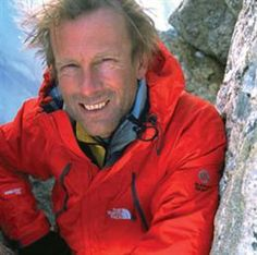 Conrad Anker - (born November 27, 1962) is an American rock climber, mountaineer, and author famous for his challenging ascents in the high Himalaya and Antarctica. He is a member of The North Face climbing team and also works closely with Timex Expedition as brand ambassador. In 1999, he was a key member of the search team which located the remains of legendary British climber George Mallory on Mount Everest. Anker is the climber who spotted Mallory's body. He lives in Bozeman, Montana.