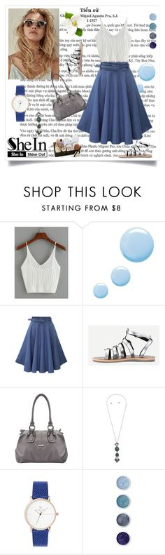 """Ribbed Knit Crop Cami Top"" by mamiigou ❤ liked on Polyvore featuring Topshop and Terre Mère"