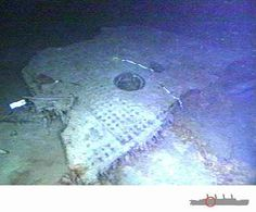 "Titanic Underwater Bodies | The ""Big Piece"" Which They Raised From The Ocean. It Was Over 20 Feet ..."