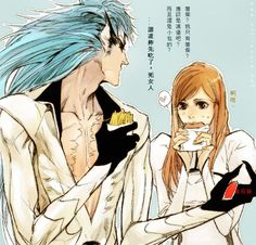Grimmjow and Orihime. Actually... I sort of ship these two.