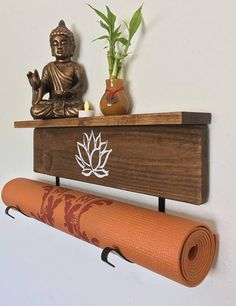 Yoga mat display
