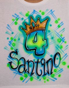 Airbrush Birthday Boy Birthday Crown Neon Colors Custom Airbrushed T Shirt Hoodie Any Age Fluorescent Colors, Neon Colors, Rainbow Colors, Birthday Design, 4th Birthday, Birthday Shirts, Airbrush T Shirts, Custom Airbrushing, Crazy Eyes