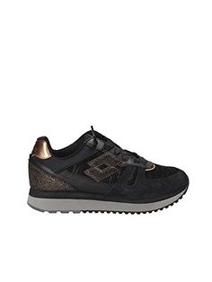 huge selection of 21dcf 71e5c LOTTO T0889 sneakers donna, Nero, EUR 40  MainApps  Amazon.it  Abbigliamento
