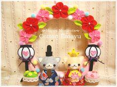 画像表示 - Cotton Emayu*えまのハンドメイドブログ - Yahoo!ブログ Felt Crafts, Diy And Crafts, Japan Crafts, Toy Craft, Amigurumi Toys, Felt Dolls, Japanese Art, Needle Felting, Great Gifts