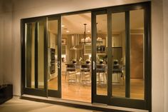 Andersen 4 Panel Sliding Patio Door - Occasionally you don't desire a conventional door. You don't have room to swing out. Y