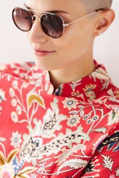 Brooklyn Brow Bar Round Sunglasses