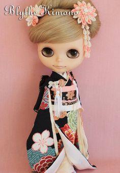 Kimono for Blythe dolls