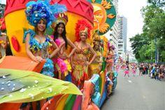 carnaval en Guayaquil