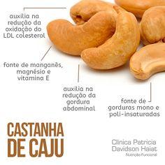 Castanha de Caju: um grande aliado para a sua saúde. Conheça os benefícios! Fique por dentro de mais dicas de saúde e alimentação saudável no nosso Instagram.   Acesse: https://www.instagram.com/emporioecco/