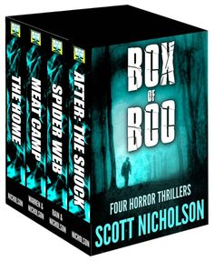 Box of Boo by Scott Nicholson on StoryFinds -99¢ A box set of 4 supernatural and #horror thrillers from international #bestselling author Scott Nicholson