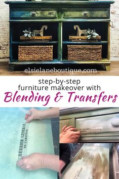 Check out this buffet makeover idea where I show you step-by-step how to blend paint and apply IOD transfers to get a boho grunge look. Super easy and my new favorite painted furniture technique! Kids Painting Projects, Diy Painting, Painted Dining Chairs, Painted Furniture, Furniture Painting Techniques, Paint Techniques, Furniture Makeover, Diy Furniture, Vintage Lockers