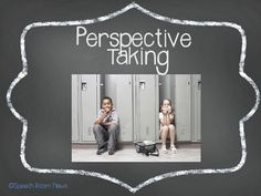 Understanding Perspective taking and Theory of Mind is a topic that is very difficulty for children with social cognitive learning delays. This social… Social Skills Lessons, Social Skills Activities, Teaching Social Skills, Speech Therapy Activities, Language Activities, Life Skills, Speech Language Therapy, Speech And Language, Speech Pathology