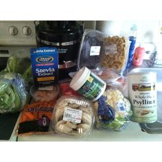 What Fighter Diet Extreme groceries look like ;)