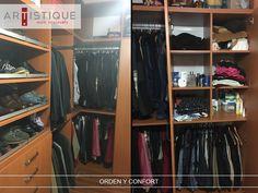Compartimos fotos de uno de los closets que instalamos en la Ciudad de México....! Creamos espacios más confortables y ordenados para nuestros clientes....!