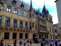 Grand Ducal Palace, Luxembourg City - by Andy Hay :Flickr