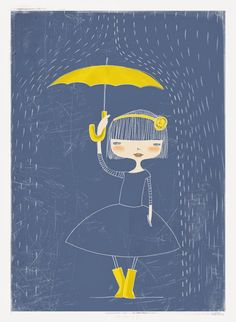 Pinzellades al món: Plou o no plou? Plou! / Llueve o no llueve? Llueve! / Raining or not raining? It's raining!