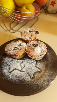 Forest fruits muffins