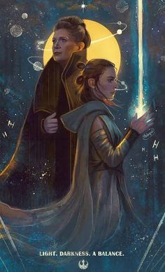 General Leia and Rey