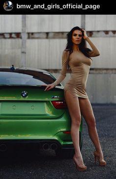 Car Girls, Bodycon Dress, Bmw, Dresses, Fashion, Pith Perfect, Sport Cars, Sports, Autos