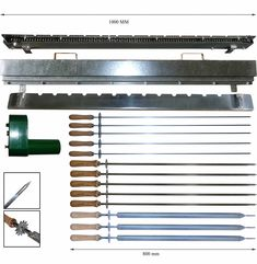 BBQ Upgrade Kit Chain Drive up to 13 BBQ Spits