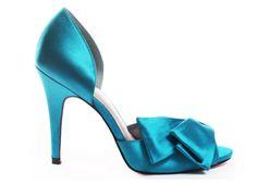 The Paris Hilton Suarey - Turquoise Satin