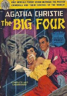 Retro Agatha Christie covers. This is not one of my favourite Agatha novels, but…