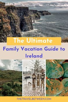 This go-to guide for family vacations in Ireland, from The Travel Between, will inspire and empower you to travel to Ireland with your family. Europe Travel Tips, Places To Travel, Travel Destinations, Travel Guides, Driving In Ireland, Best Of Ireland, Tourism Development, Family Travel, Family Vacations