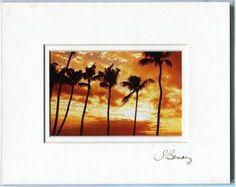 "Susan Benay 8 x10 Maui Natives ""Maui Dreams"" Art Photograph Double Matted"
