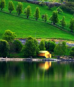 Breathtaking!  Flam Village,Bergen, Norway
