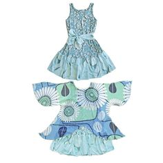 Buy this girls heart dress with wings attached. She can transform into a butterfly or a fairy. More than a dress & better than a costume. Little Girl Summer Dresses, Girls Blue Dress, Blue Dresses, Girls Dresses, Wow Wings, Fairy Dress, Heart Dress, Business Fashion, Look Cool