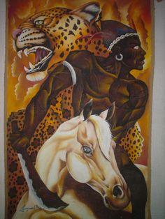 nok-ind:  OGOUN BADAGLI/ Ogun: Vodoun God of Metals War...