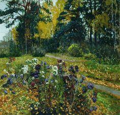 Stanislav Zhukovsky Yulianovich. Russian painter of Polish origin (1873 - 1944)